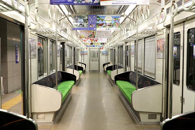 京阪7000系 車内デザイン