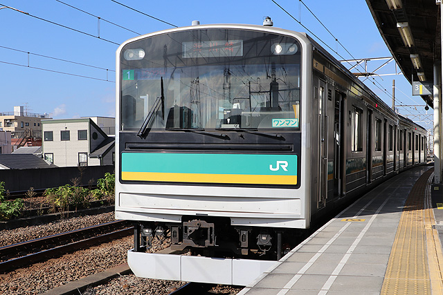 JR東日本205系1000番台 車内デザイン
