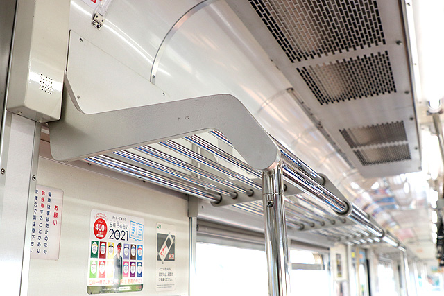 JR東日本205系1000番台 荷棚