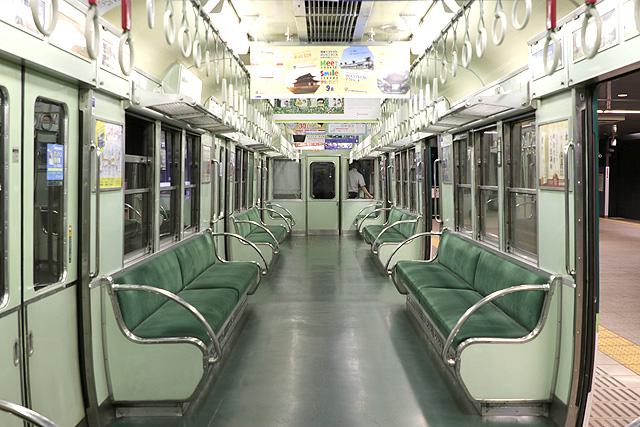 京阪2200系 初期車 車内デザイン