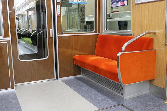 北大阪急行8000形(リニューアル・06編成)優先座席