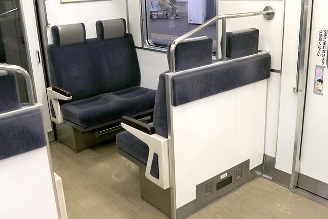 南海1000系(初期車) ボックスシート