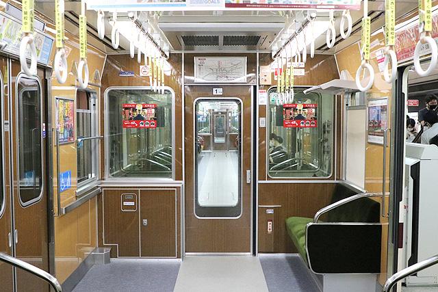 北大阪急行8000形(リニューアル・06編成)貫通路