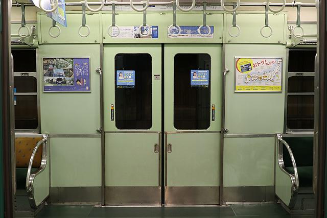 京阪2200系 後期車 ドア