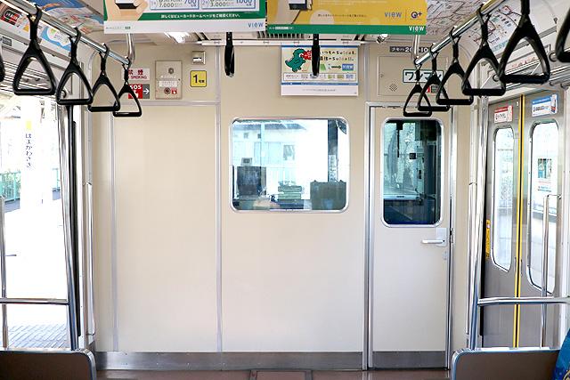 JR東日本205系1000番台 乗務員室背面