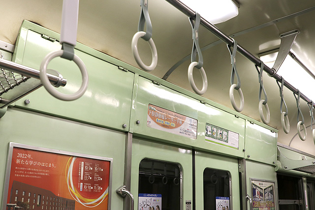 京阪2200系 後期車 鴨居 ペンキ仕上げ
