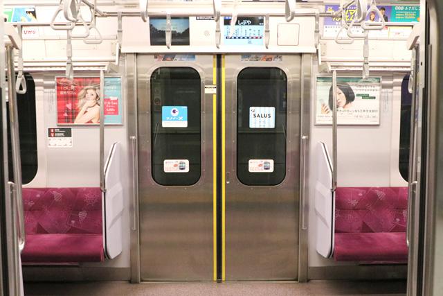 横浜高速鉄道Y500系 客用ドア