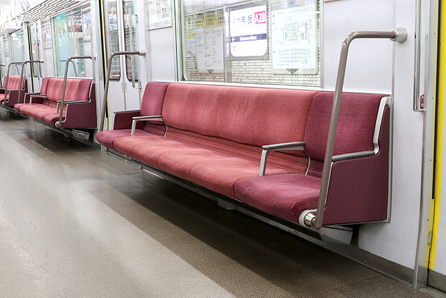近鉄9820系 座席モケット2