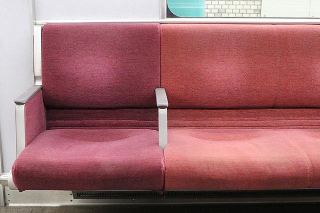 近鉄9820系 座席モケット1