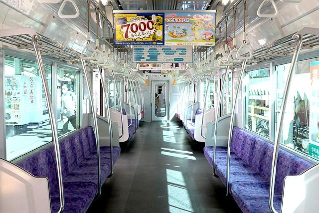 名鉄3150系(3次車)車内デザイン
