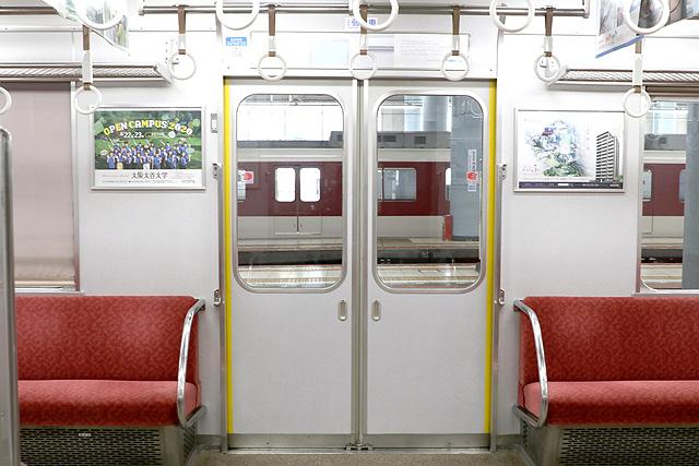 近鉄2610系(X22編成)客用ドア