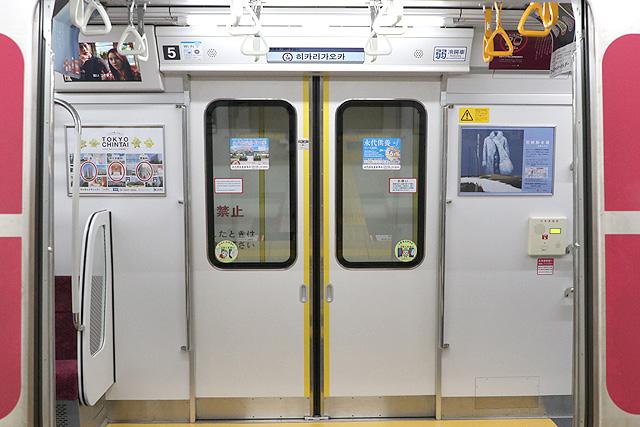 都営地下鉄12-600形(3次車)客用ドア