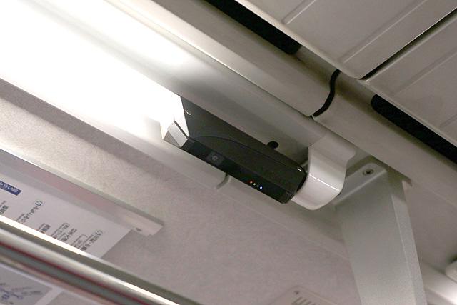 東急5080系(7次車)防犯カメラ