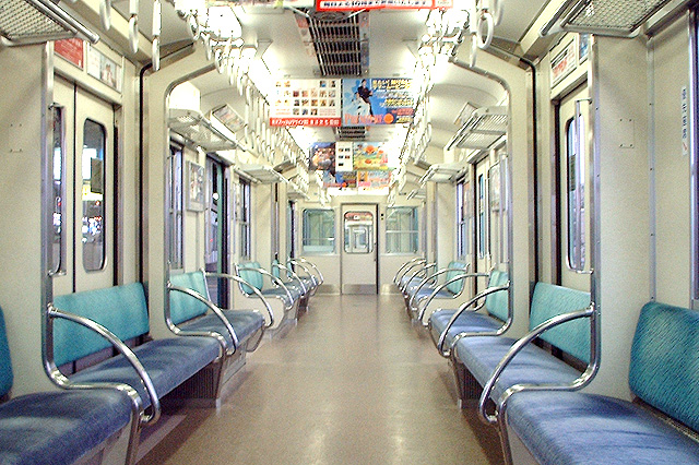 京阪5000系 更新当時の車内