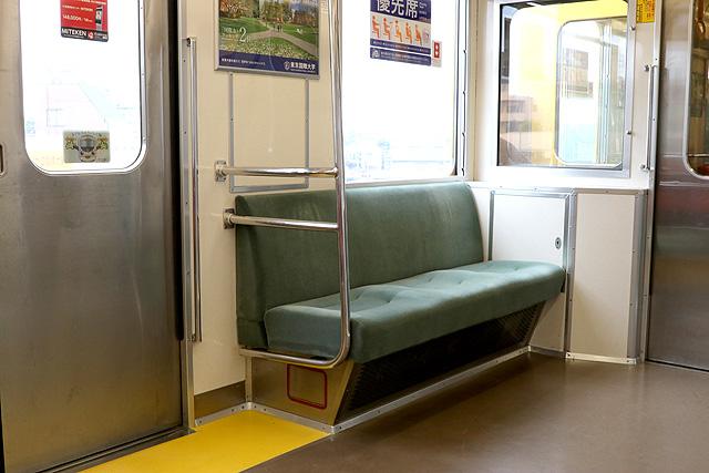 西武9000系(ワンマン車)優先席