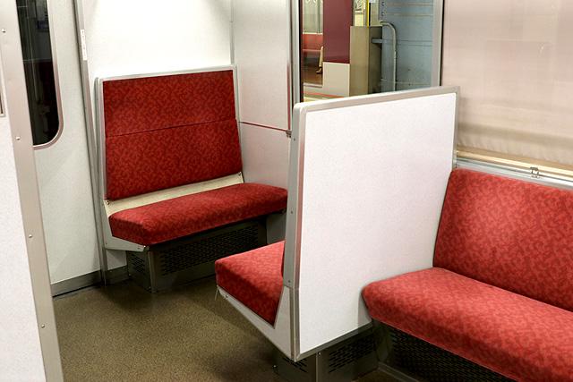 近鉄2610系(X22編成)ボックスシート
