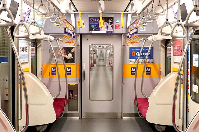 東急5080系(7次車)貫通路