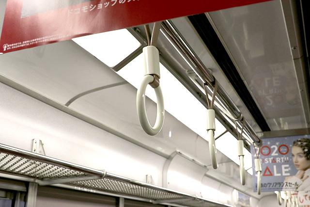 近鉄5200系 吊革