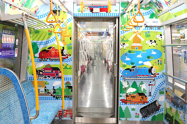 都営地下鉄12-600形(3次車)子育て応援スペース(フリースペース)