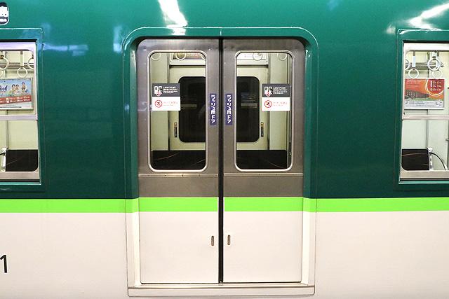 京阪5000系 ステンレスドア
