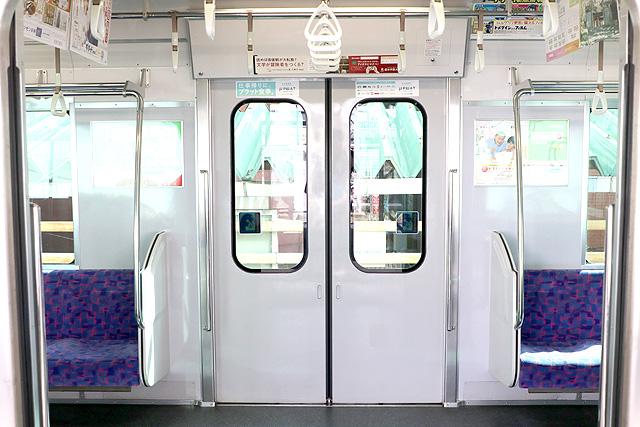 名鉄3150系(3次車)客用ドア