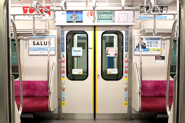 東急5080系(7次車)客用ドア