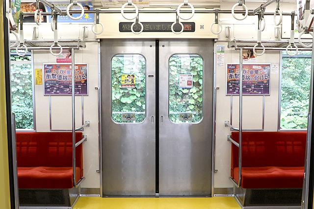 西武9000系(ワンマン車)客用ドア