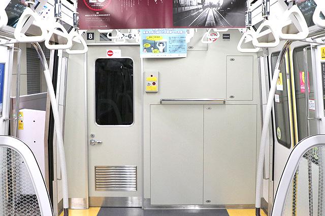 都営地下鉄12-600形(3次車)乗務員室背面