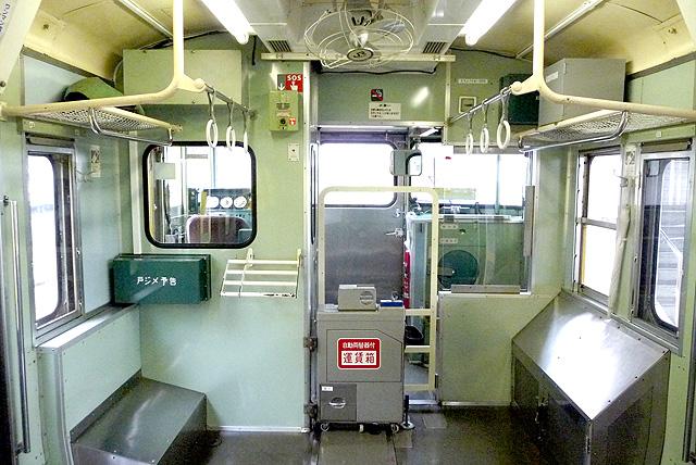 JR東日本115系500番台 乗務員室背面