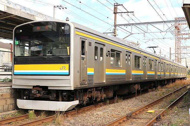JR東日本205系1100番台 車内デザイン