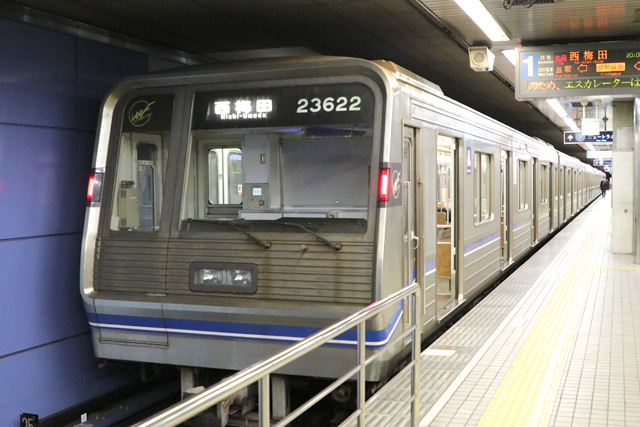 Osaka Metro 23系(最終増備車)車内デザイン