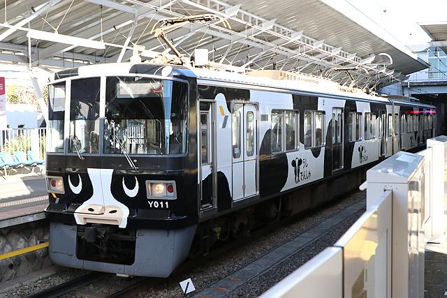 横浜高速鉄道Y000系うしでんしゃ 車内デザイン
