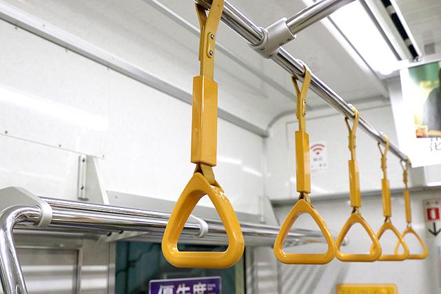 京王1000系(5・6次車)吊革(優先席)