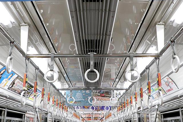 都営6300形(3次車)天井部
