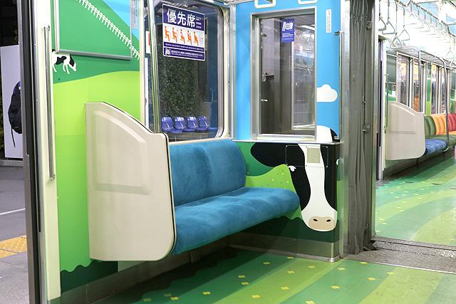 横浜高速鉄道Y000系うしでんしゃ 優先席