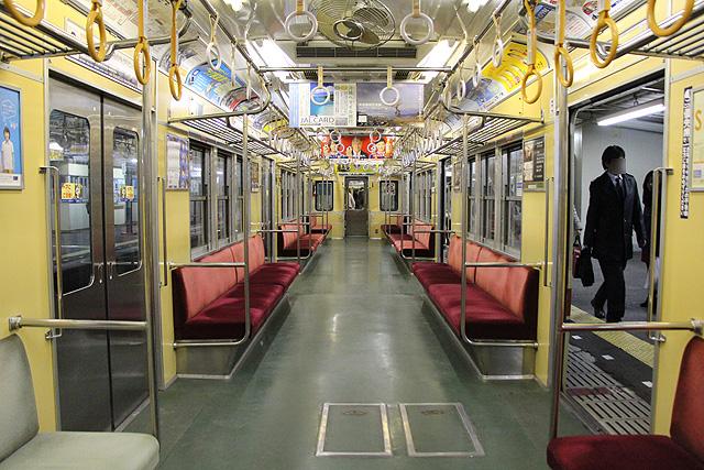 京成3300形 車内