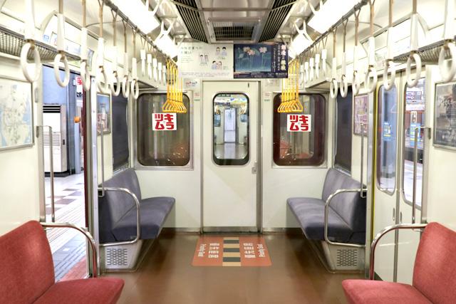 近鉄2410系(初期B更新車)貫通路