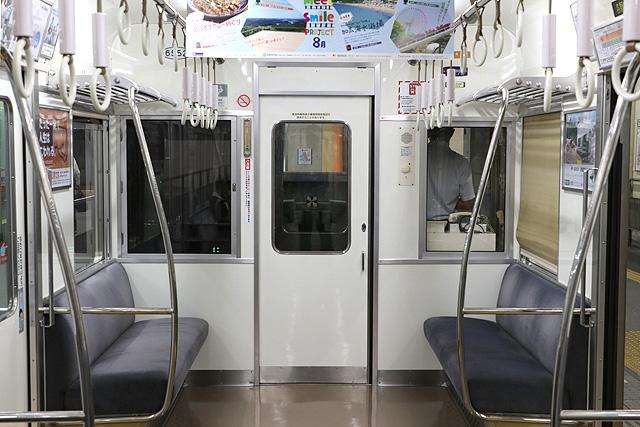 南海6200系50番台 乗務員室背面