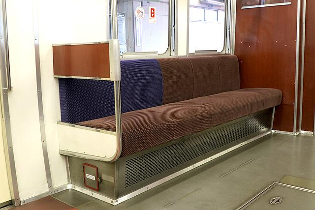 名鉄6000系(9次車)優先席