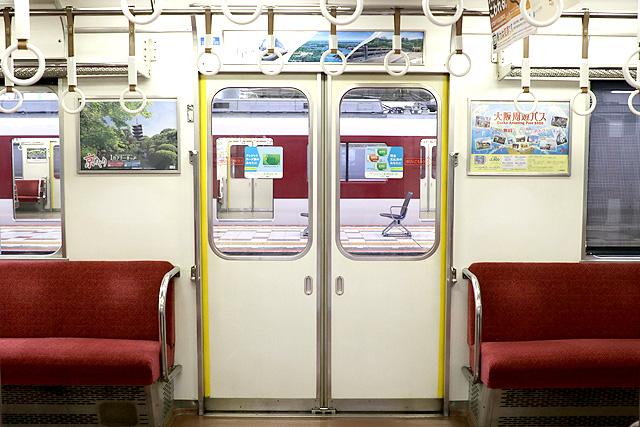 近鉄2410系(初期B更新車)客用ドア