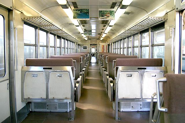 大井川鉄道3000系 車内