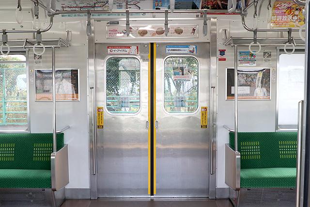 JR東日本205系1100番台 客用ドア(元山手線車)