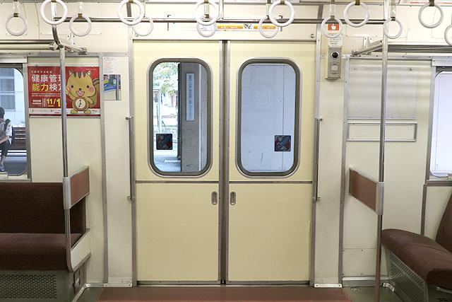 名鉄6000系(9次車)客用ドア