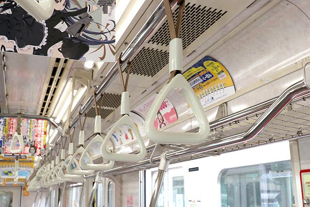 東京メトロ07系 吊革