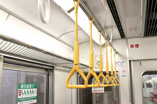 近鉄1620系 吊革(優先座席)