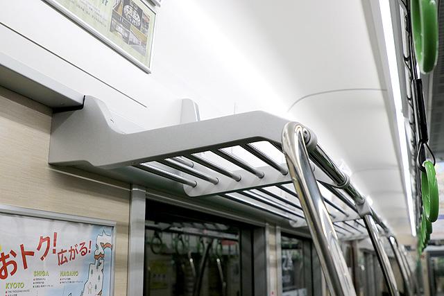 京阪13000系(5次車)荷棚