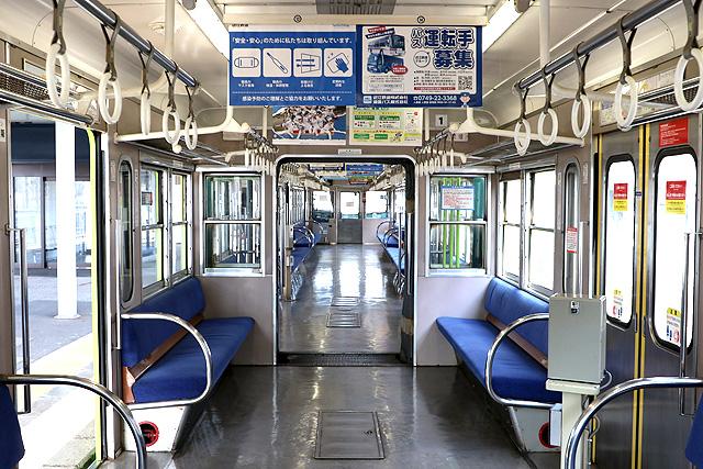 近江鉄道800系 貫通路