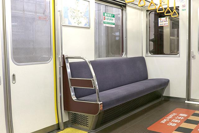 近鉄1620系 優先座席