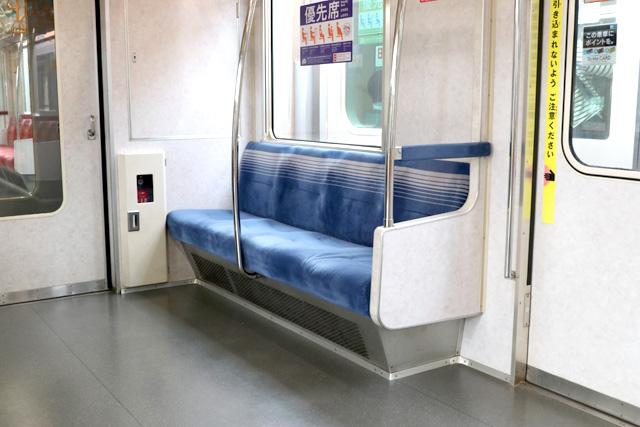 東京メトロ07系 優先席