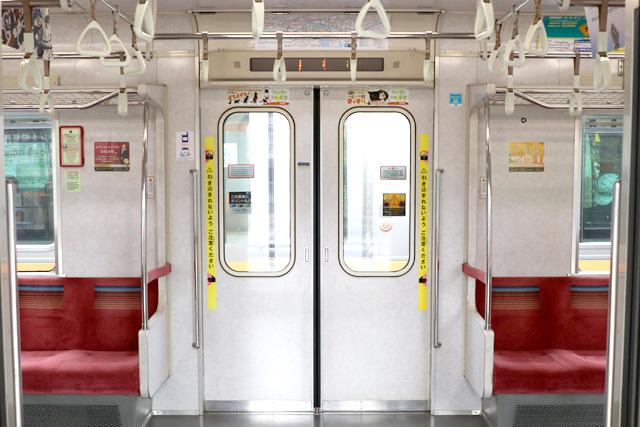 東京メトロ07系 客用ドア